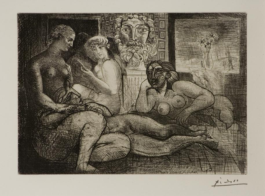 Picasso, Quatre Femmes...