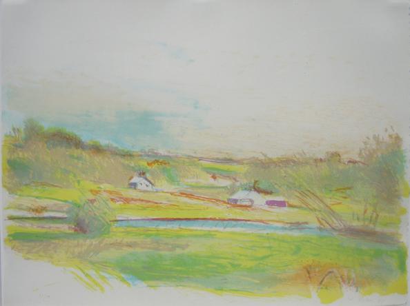 Flood Plain Farm in Color