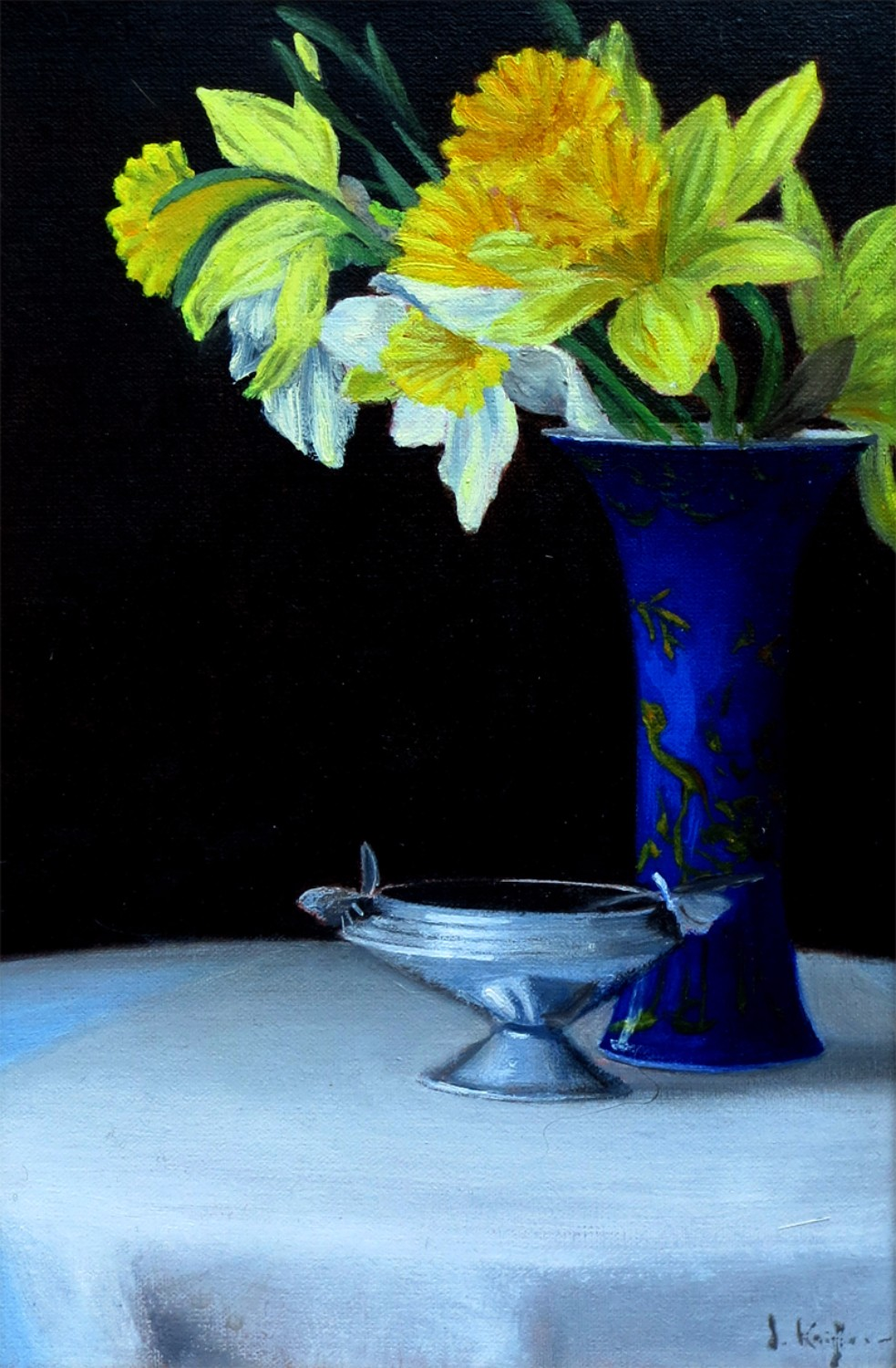 Daffodils in a Ch'ing Vase