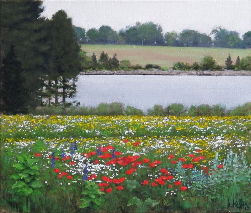 A Garden in June