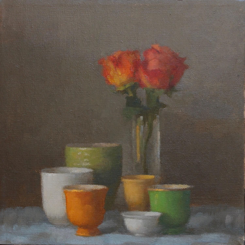 Orange Roses #1458