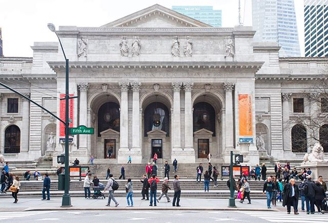 The New York Public Library is a public library system in New York City. With nearly 53 million items, the New York Public Library is the second largest public library in the United States (behind the Library of Congress), and fourth largest in the world. . . . #krny #newyork  #nyc @newyork_instagram @instanyc @instagramnyc #newyork_instagram #instanyc #instagramnyc #what_i_saw_in_nyc