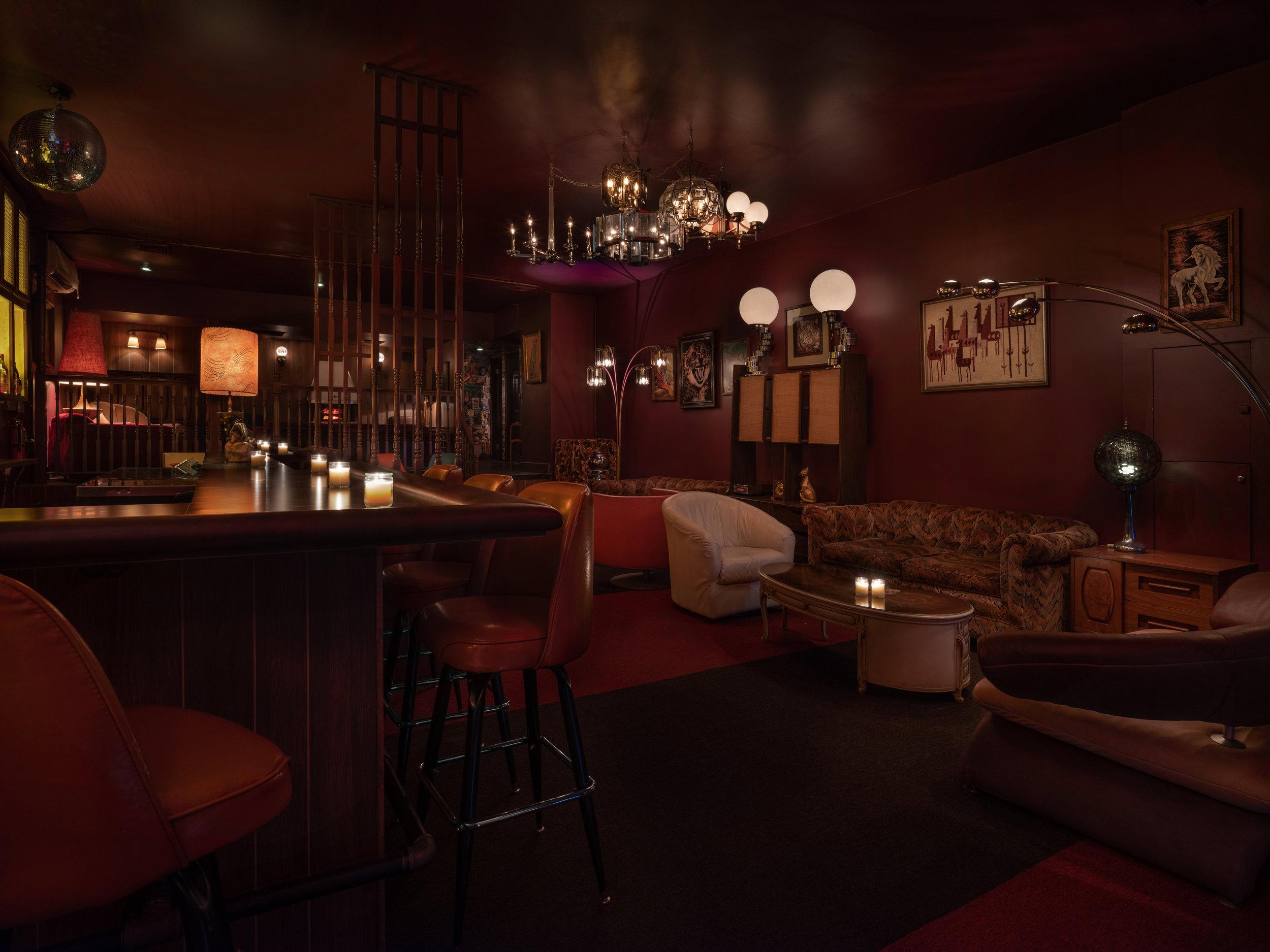 Beetlecat Upstairs Dining Room, Atlanta GA. Design by Elizabeth Ingram