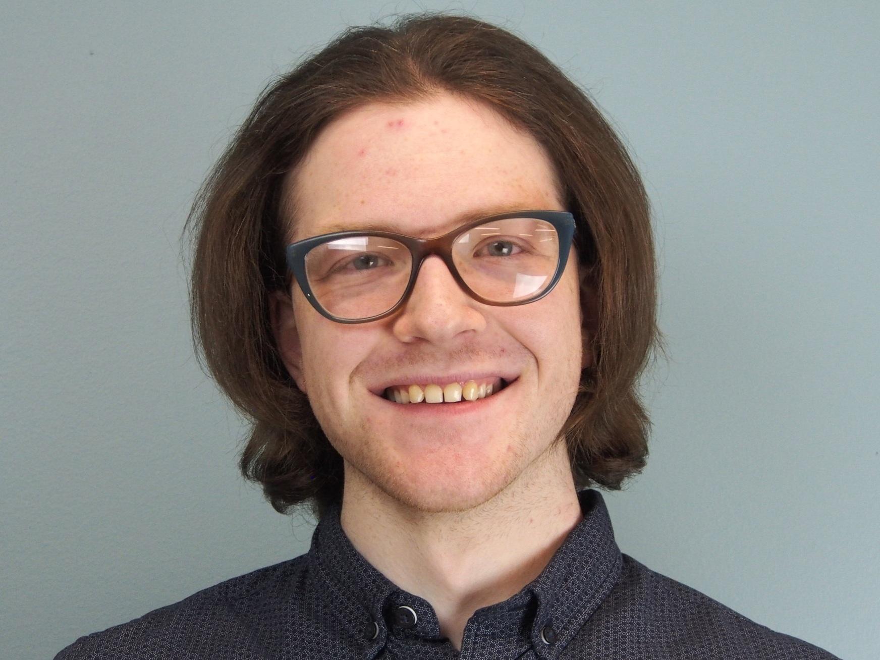 Undergraduate Liam Mitchell