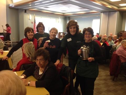 Friends Volunteers staff Senior Happening.
