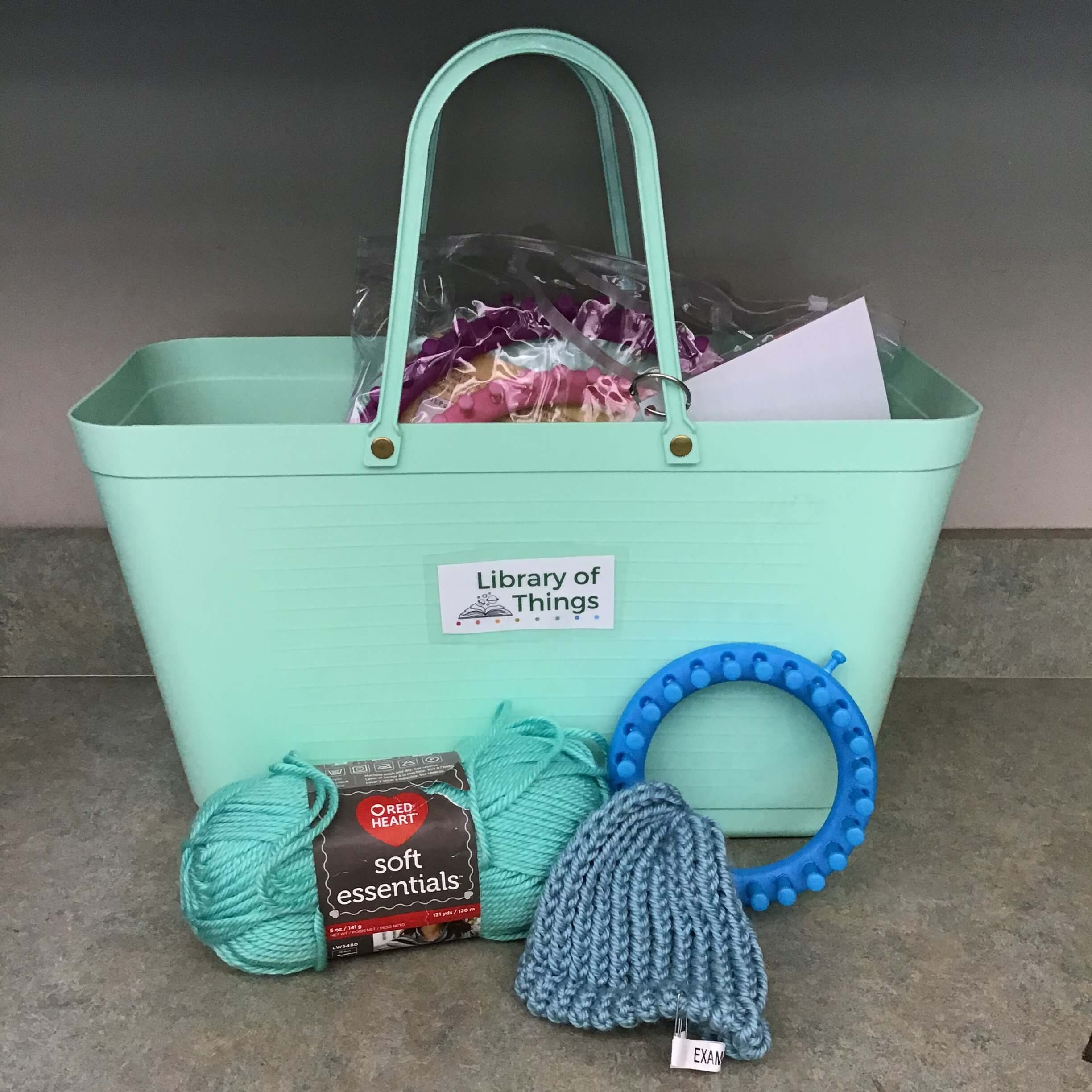 Knitting kit - Knitting LoomsYarnDonate to St. Barnabas