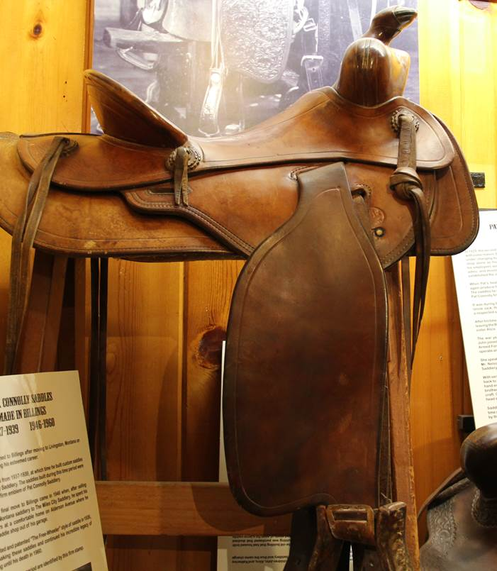 A Connolly Saddle