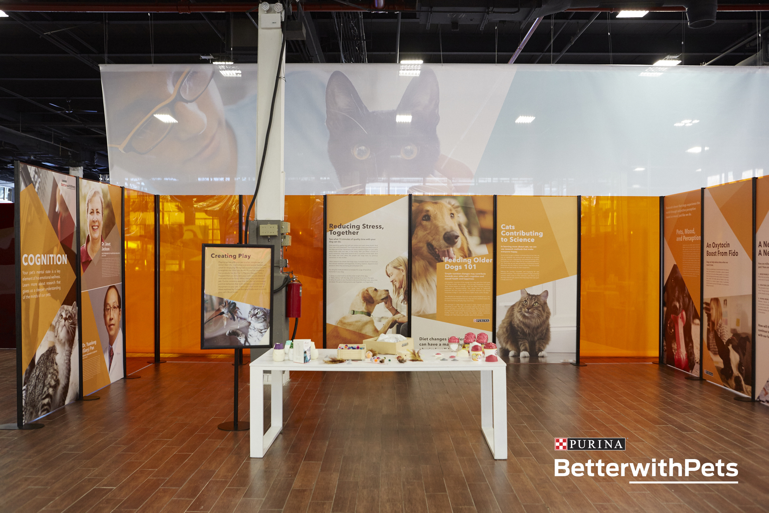 Purina Better with Pets Exhibit