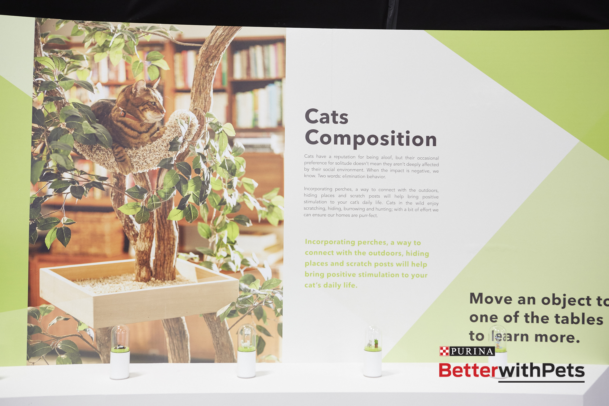 Purina Better with Pets Interactive Exhibit