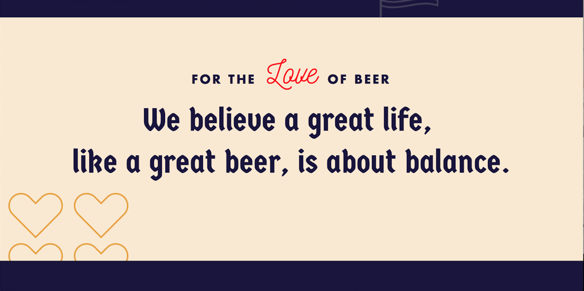 The new tagline for Gluek Beer's glorious resurrection!