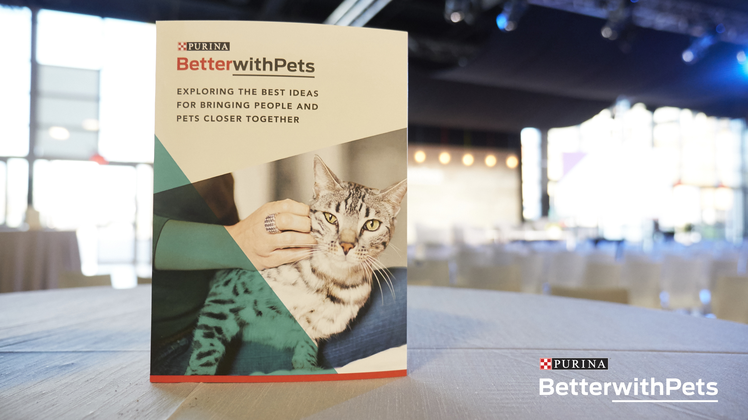 Purina Better with Pets Summit tagline.