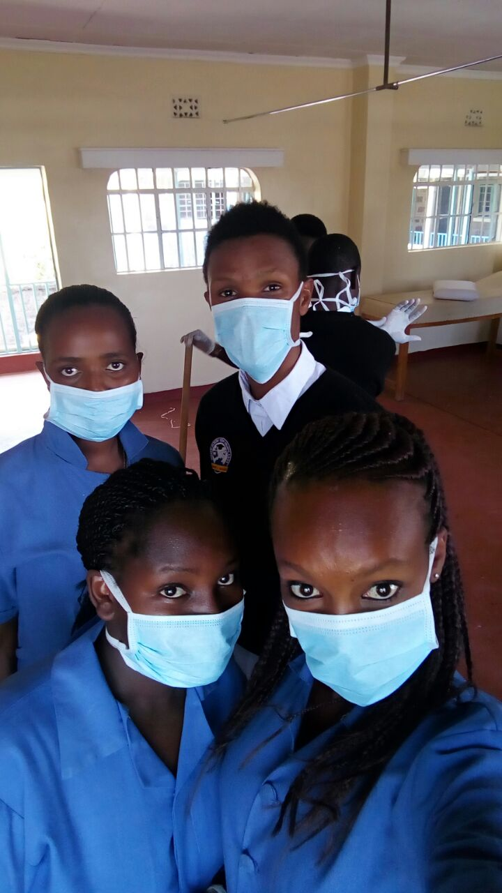 Joy (and friends) in nursing school