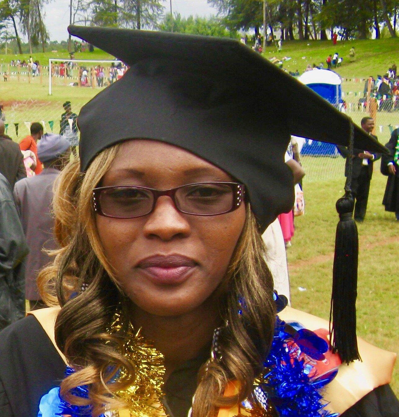 Jacinta graduating