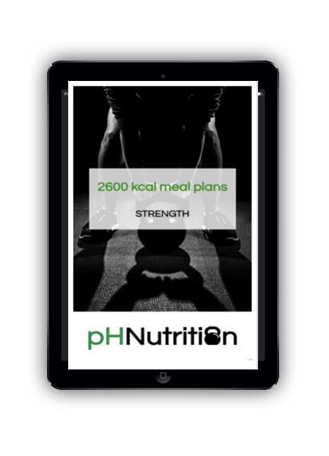 2600 calorie meal plans - Meal plan examples for 2600 kcal for morning, lunchtime, evening and double training