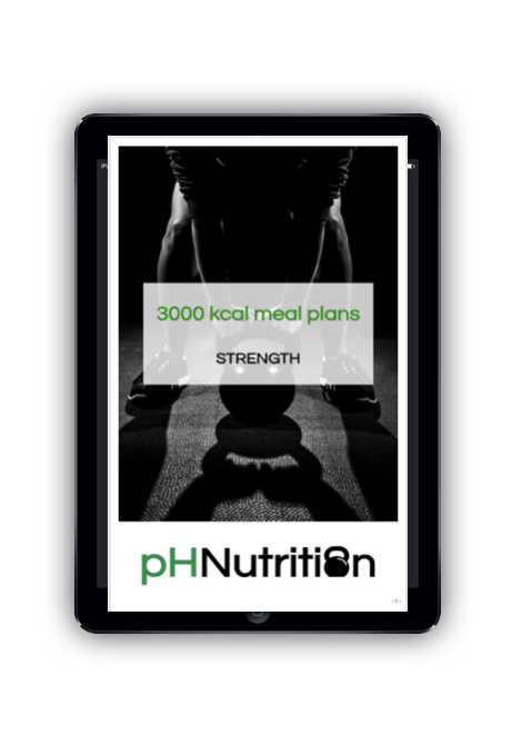 3000 calorie meal plans - Meal plan examples for 2400 kcal for morning, lunchtime, evening and double training