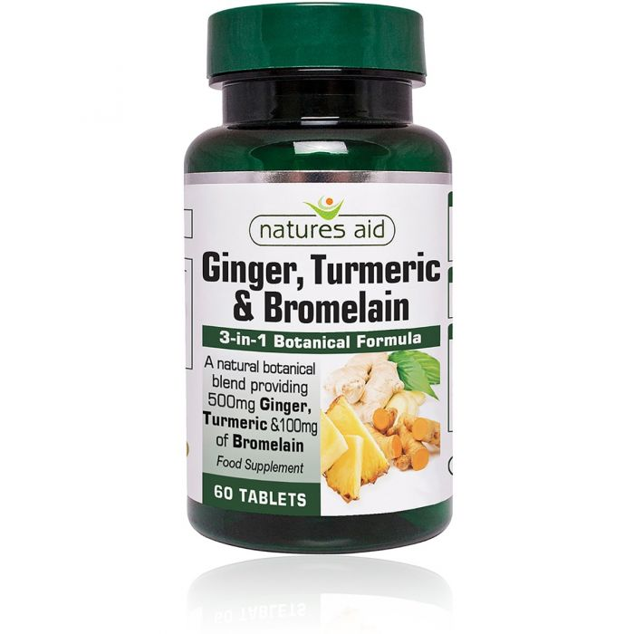 GINGER, TURMERIC, BROMELAIN - These 3 ingredients are potent anti inflammatories. We create inflammation in the body by training hard and getting more natural substances such as these can help us to recovery quicker and train harder.
