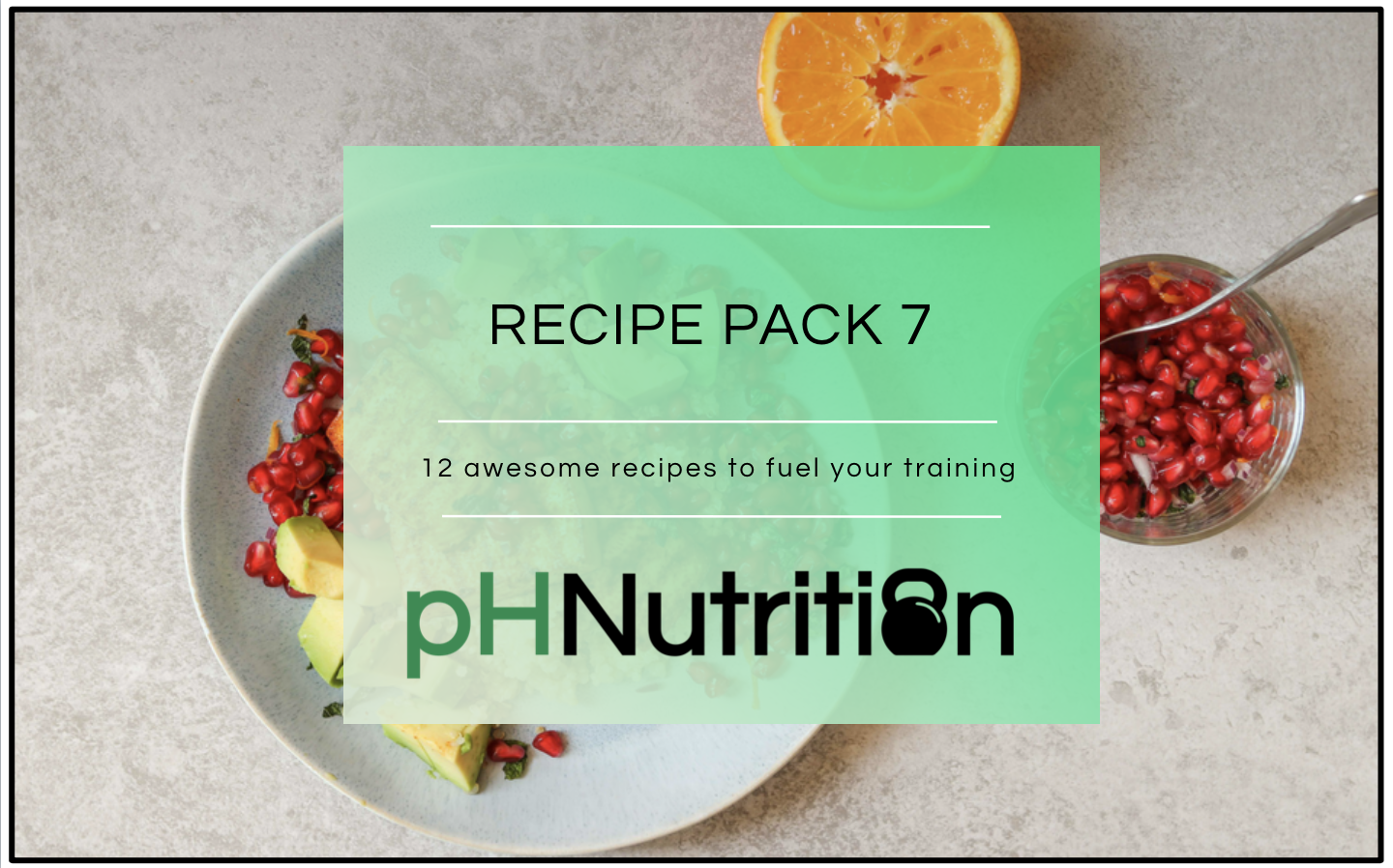 MONTH 7 - 12 awesome recipes to help fuel your training.A few highlights include the raspberry & flaxseeds smoothie bowl, the moroccan spiced veg with cashews & black rice and the chicken in creamy mushroom sauce. Refuel with an awesome vegan smoothie also!