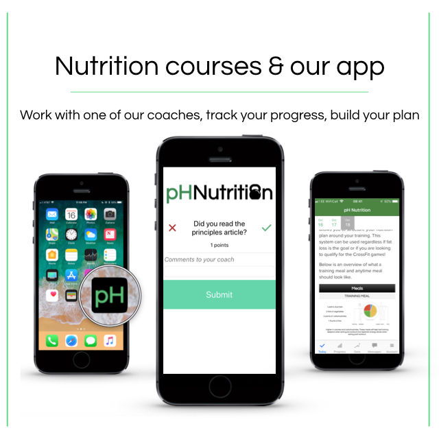 Our nutrition courses - These guides can be used to supplement your nutrition plan. However we use them in our nutrition courses and go through them in more detail. Check out the courses we currently have available.