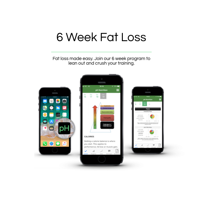 6 week fat loss - £149