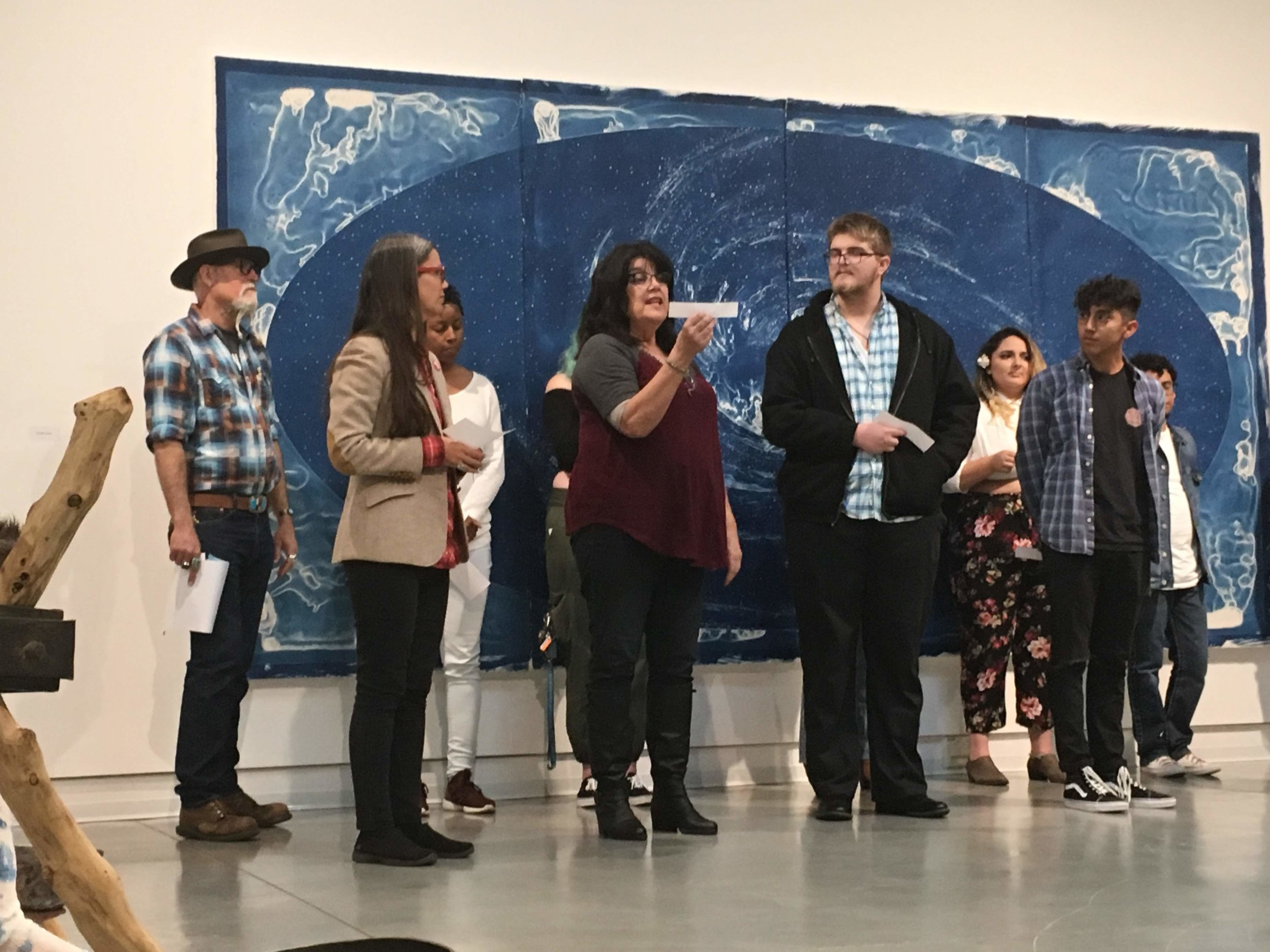 Poetry And voice - Poets, actors and students share original and historical poems about the heavens and the earth. In a sound performance, participants read prayers that have been contributed to the Skywheel Project, accompanied by musical bowls.