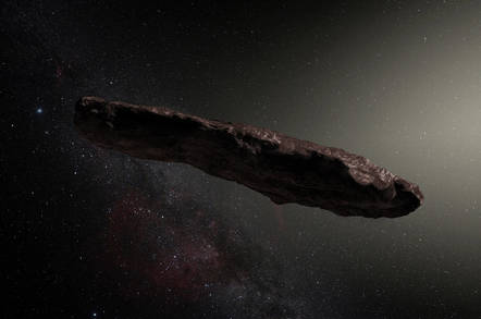 Oumuamua, the Space Turd
