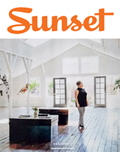 Click here to view Sunset magazine Featuring Vessel Gallery