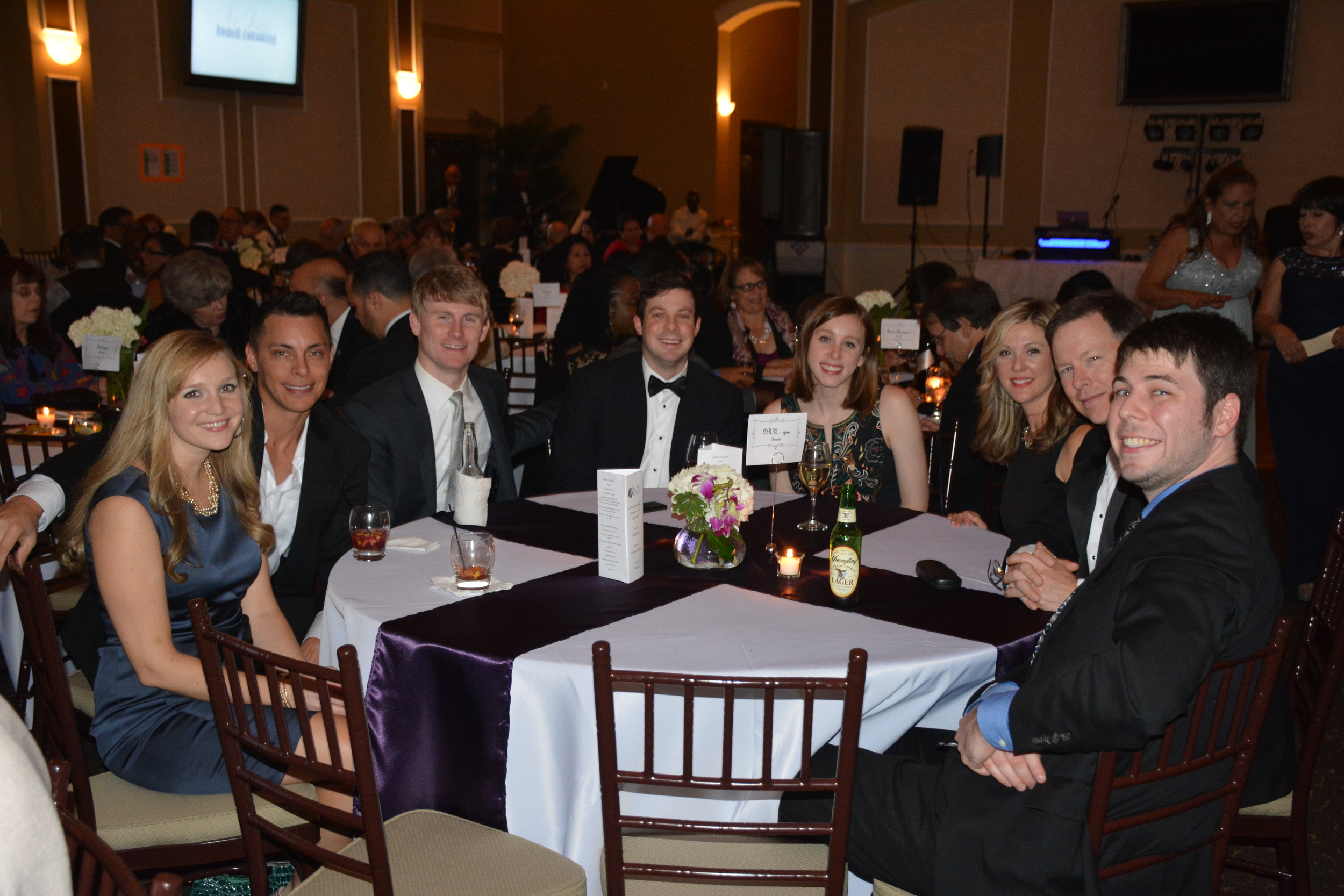 ALAS Board Member Eric Garber (right) Enjoys Gala Night with Friends and Community Members