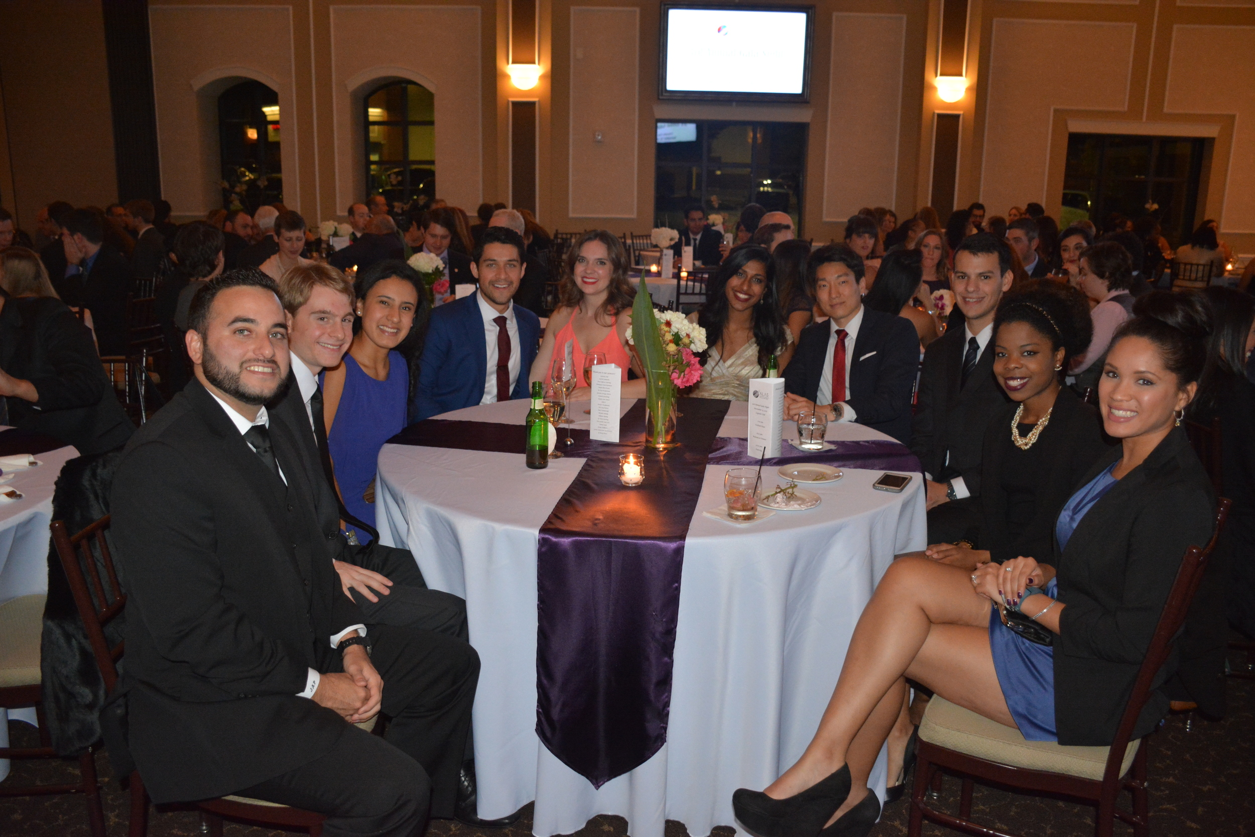 MCG Students and Future Clinic Coordinators Join us for Gala Night