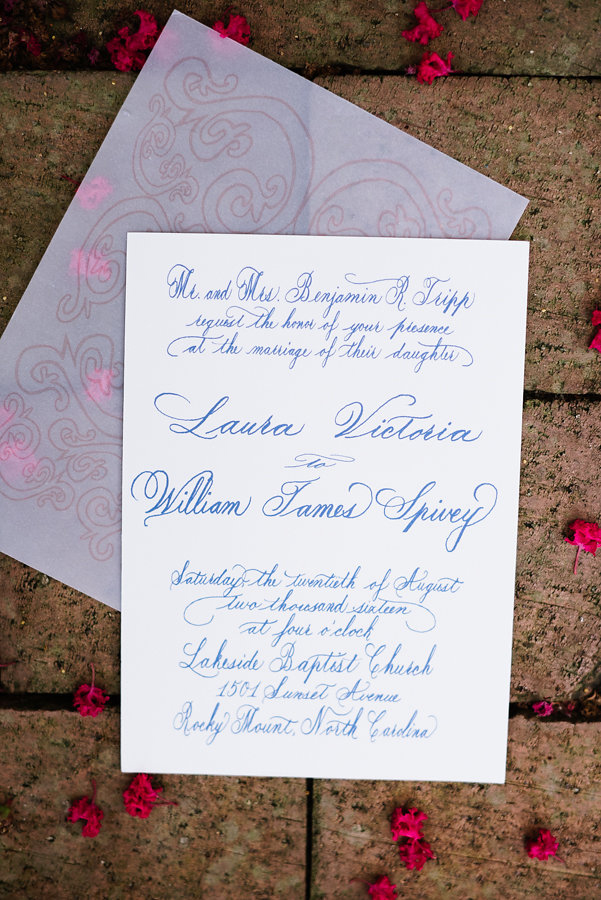 Spot Calligraphy for Invitations