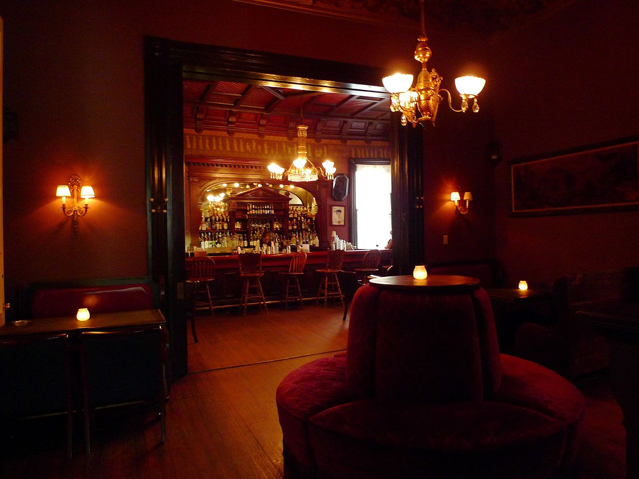 The Victorian Lounge  via