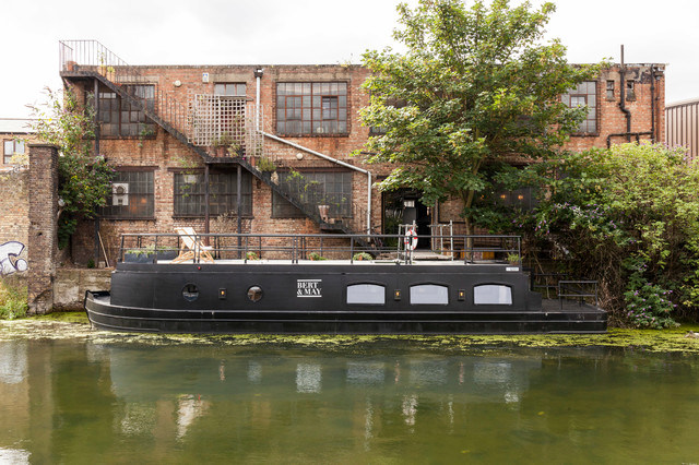 The mysterious barge   via