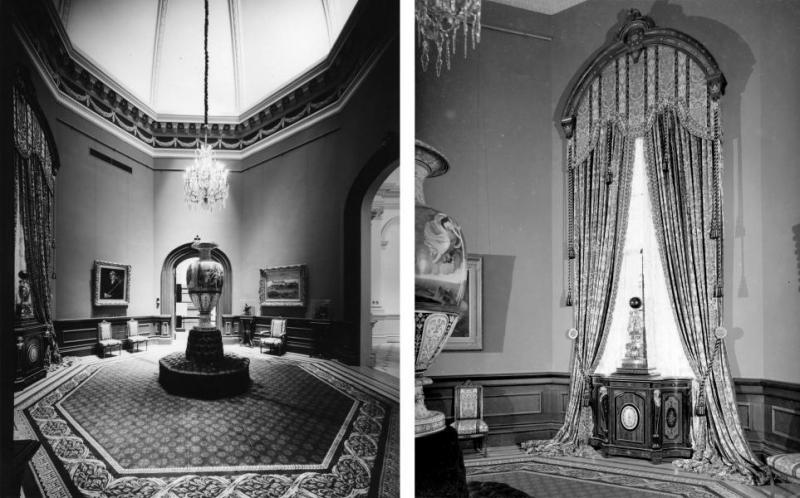The Octagon Room, 1975   via