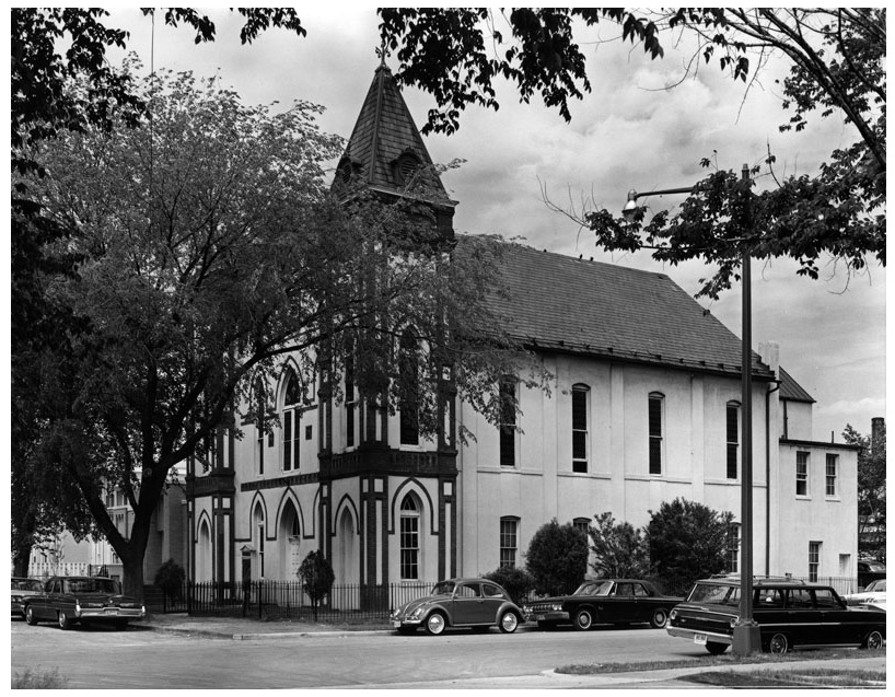 The Friendship Baptist Church, circa 1950s  via