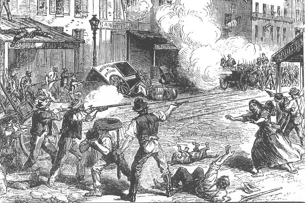 Draft Riots, 1863   via