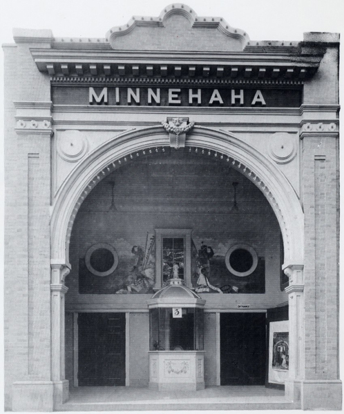 The Minnehaha Theatre,   via