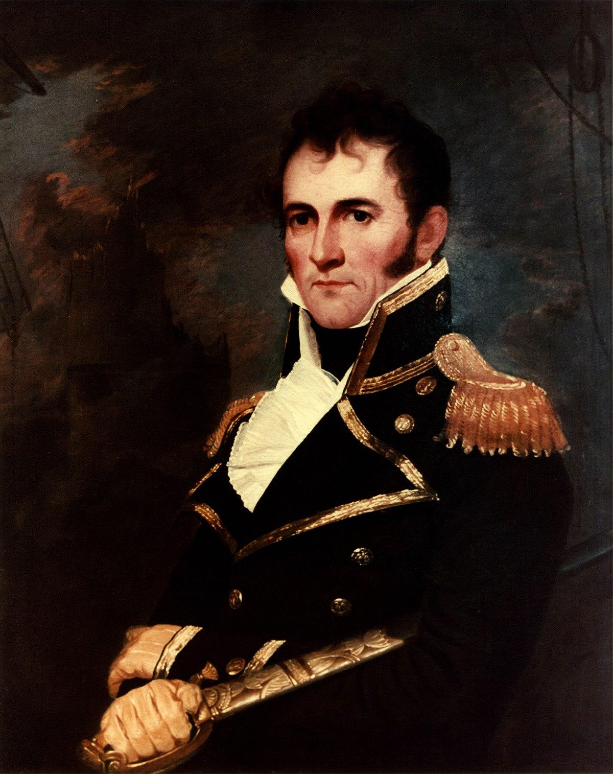 Commodore David Porter, who gave the area its name,   via