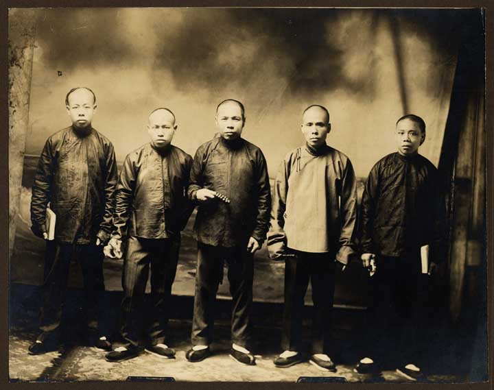 Chinese immigrants in California, 19th c  via