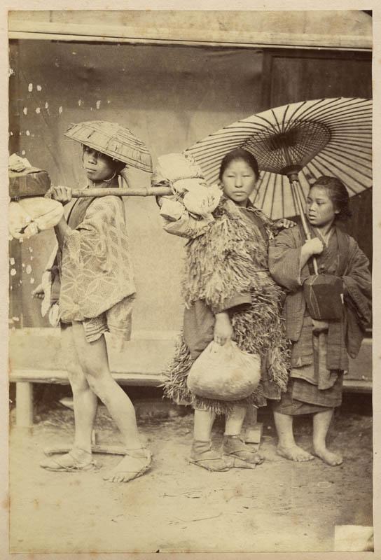 Chinese women, c. 1880s  via