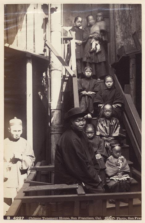 """Chinese tenement house"", c. 1884  via"
