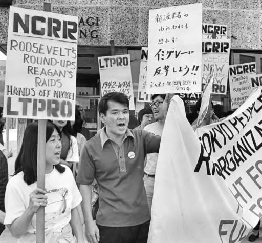 Protestors, 1982  via