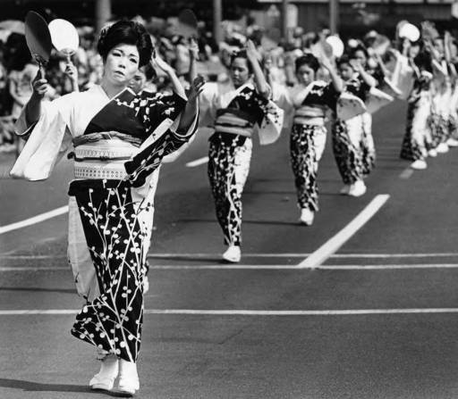 Dancers on First Street, 1981  via