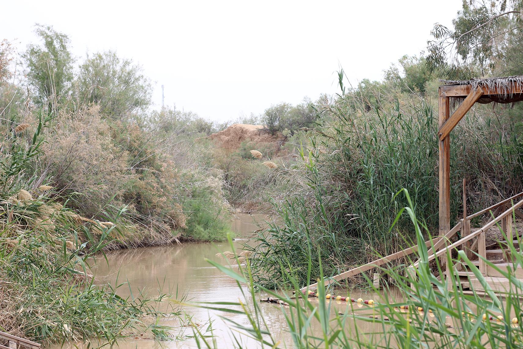 The mighty Jordan River.
