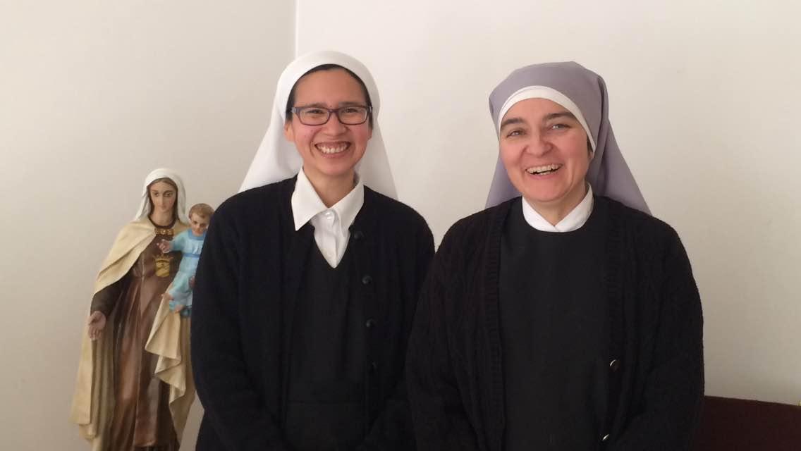 Sr. Lizeth (left) and Sr. Liz (right).