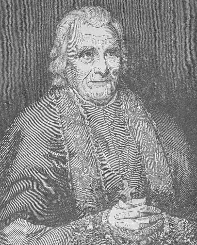 The main man, himself. Bishop Benedict Joseph Flaget.