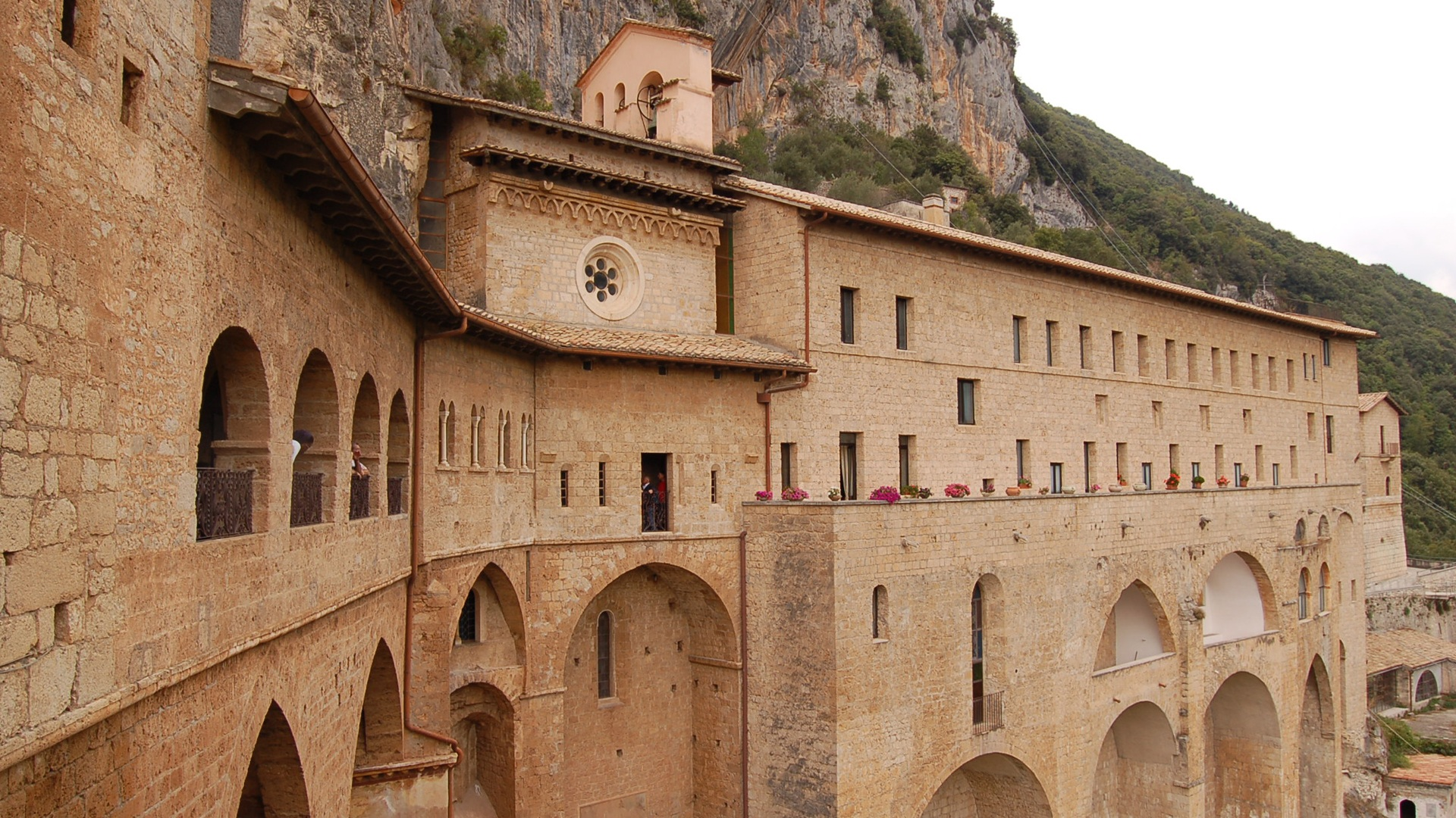 Subiaco - Site of St. Benedict's first monastery
