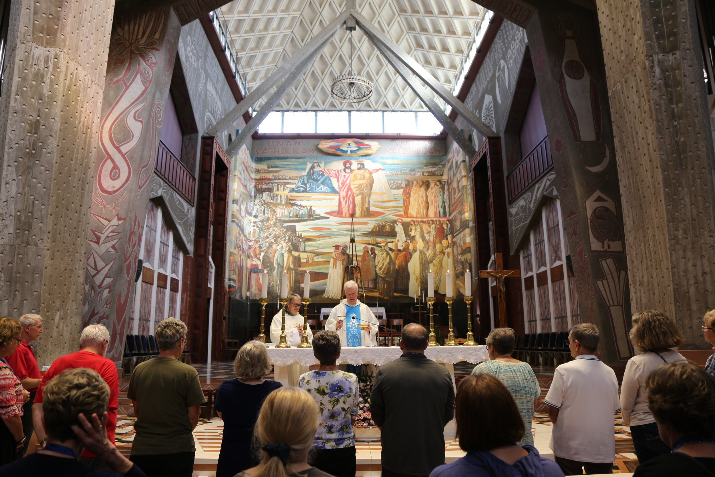 Opening Mass at the Basilica of the Annunciation