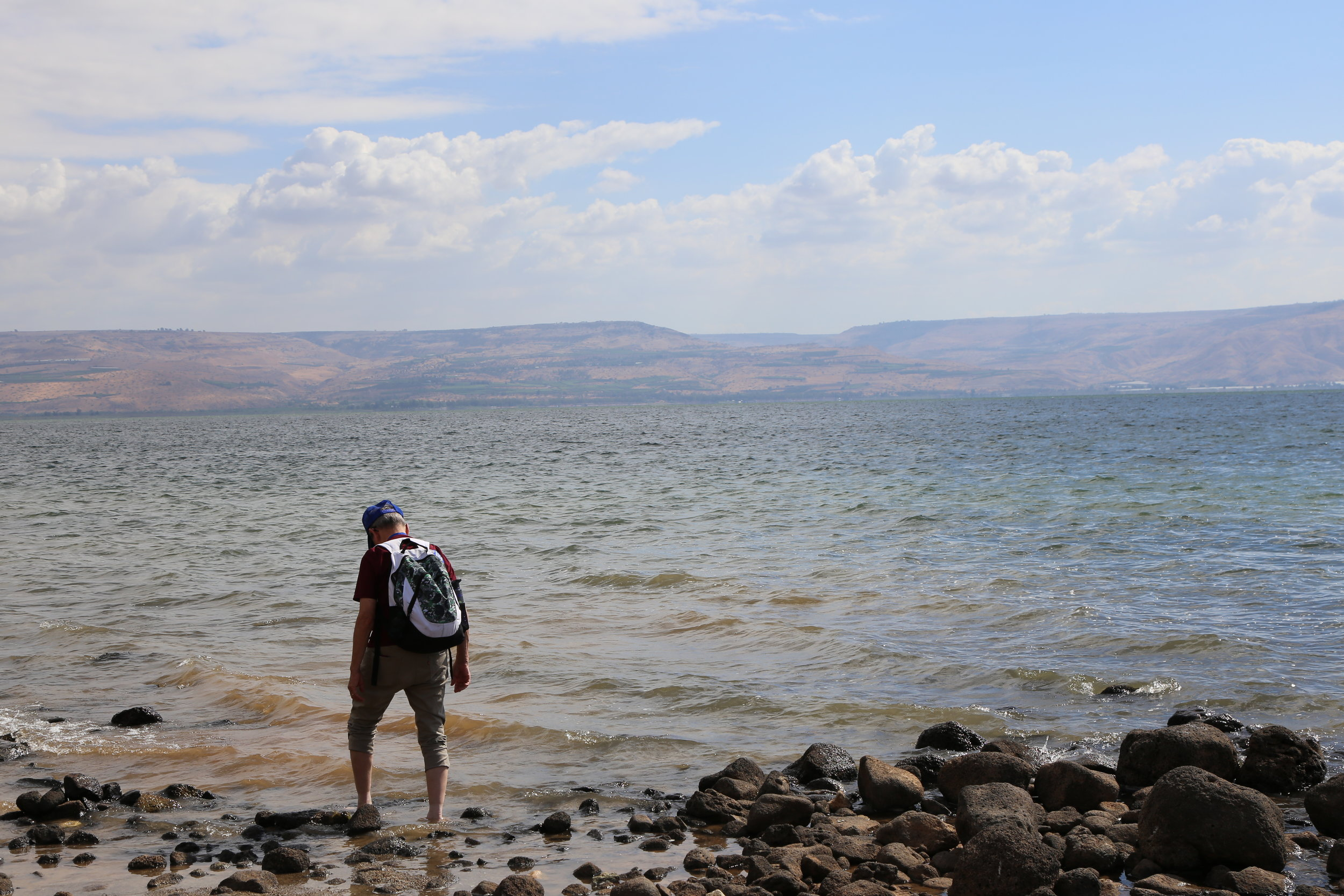 Case in point, when else can you dip your feet into the Sea of Galilee?