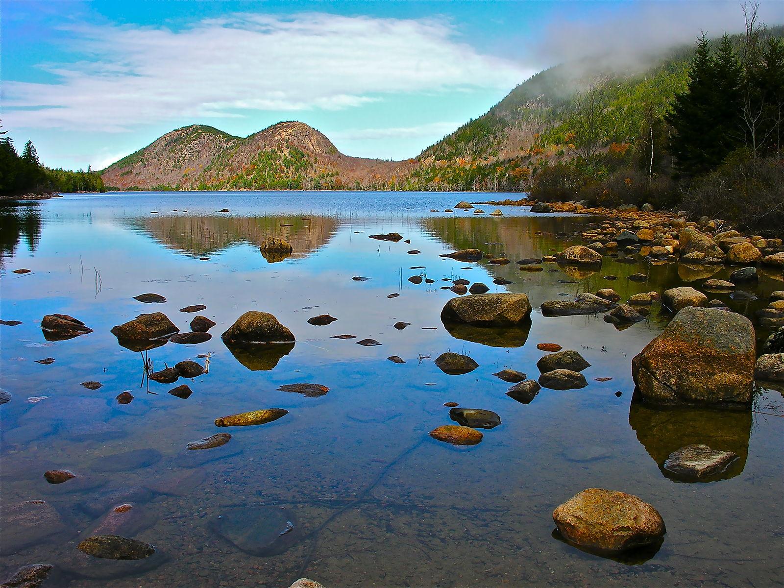 Jordan Pond in Acadia National Park  Photo by Plh1234us/CCA-SA 3.0