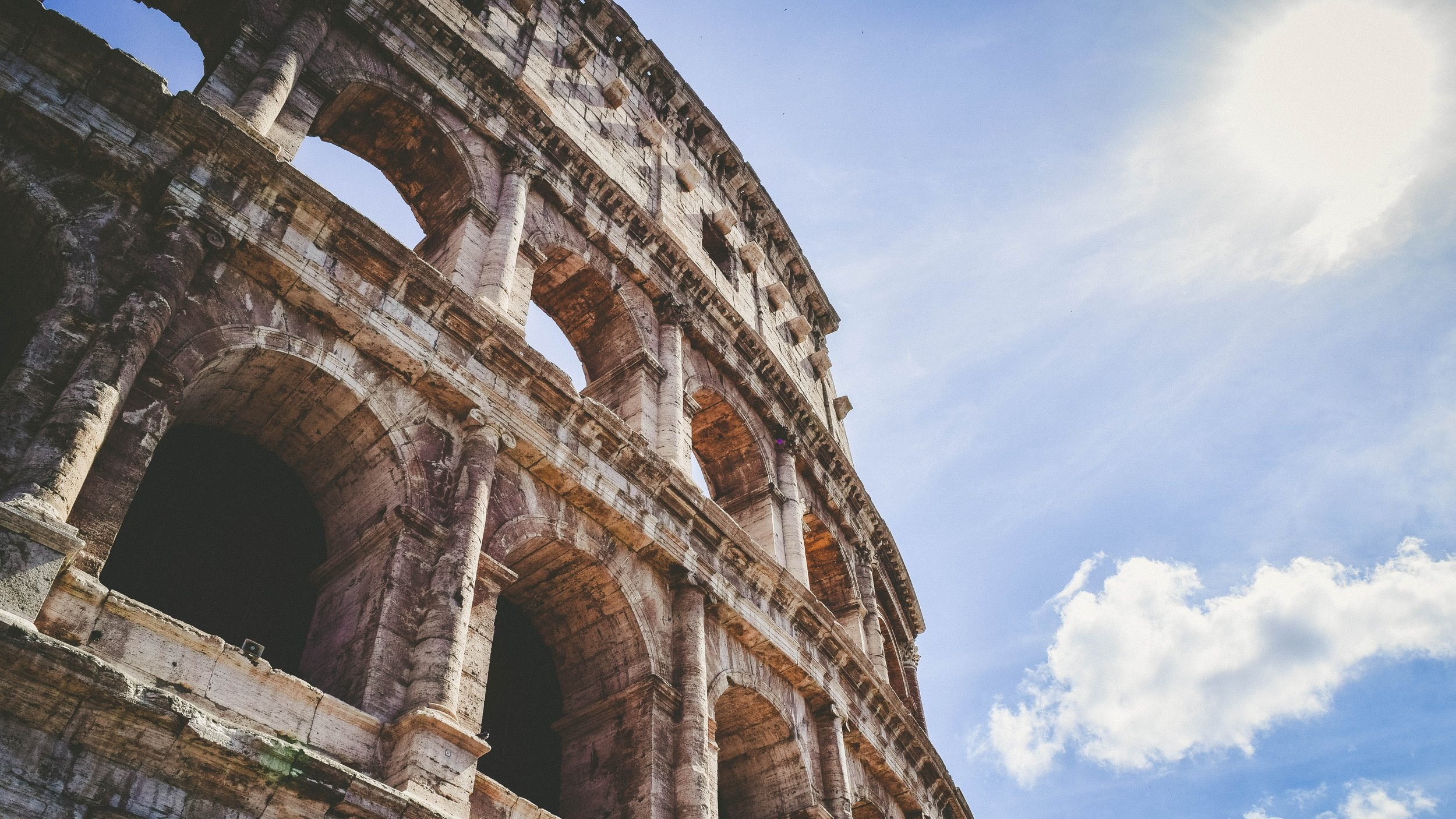 Tuesday of Holy Week - Explore the historical and cultural sites of Rome - the Coliseum, Roman Forum, and more!