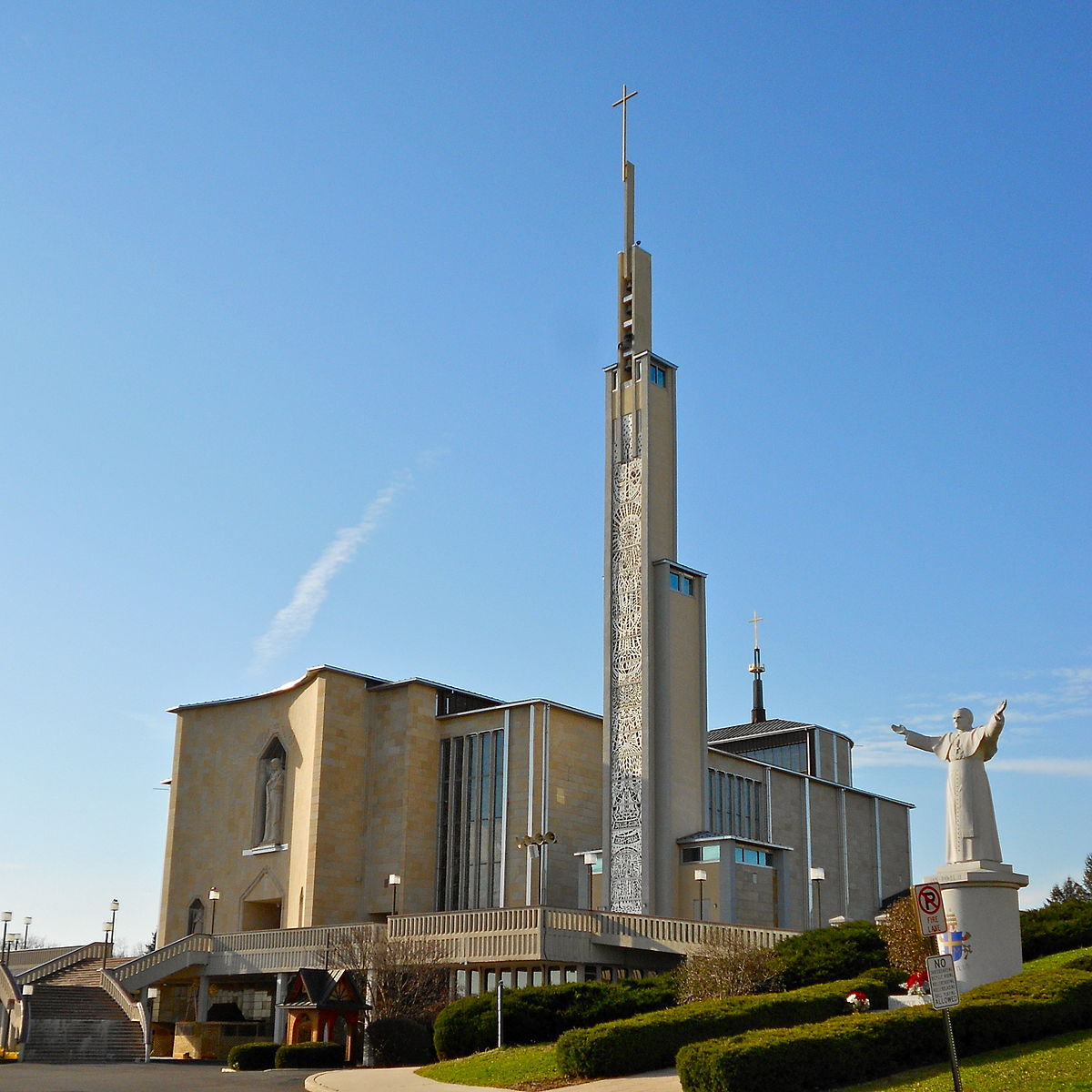 National Shrine of Our Lady of Czestochowa  Photo by Smallbones/CCA-SA 1.0